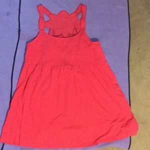 Coral tank cover up
